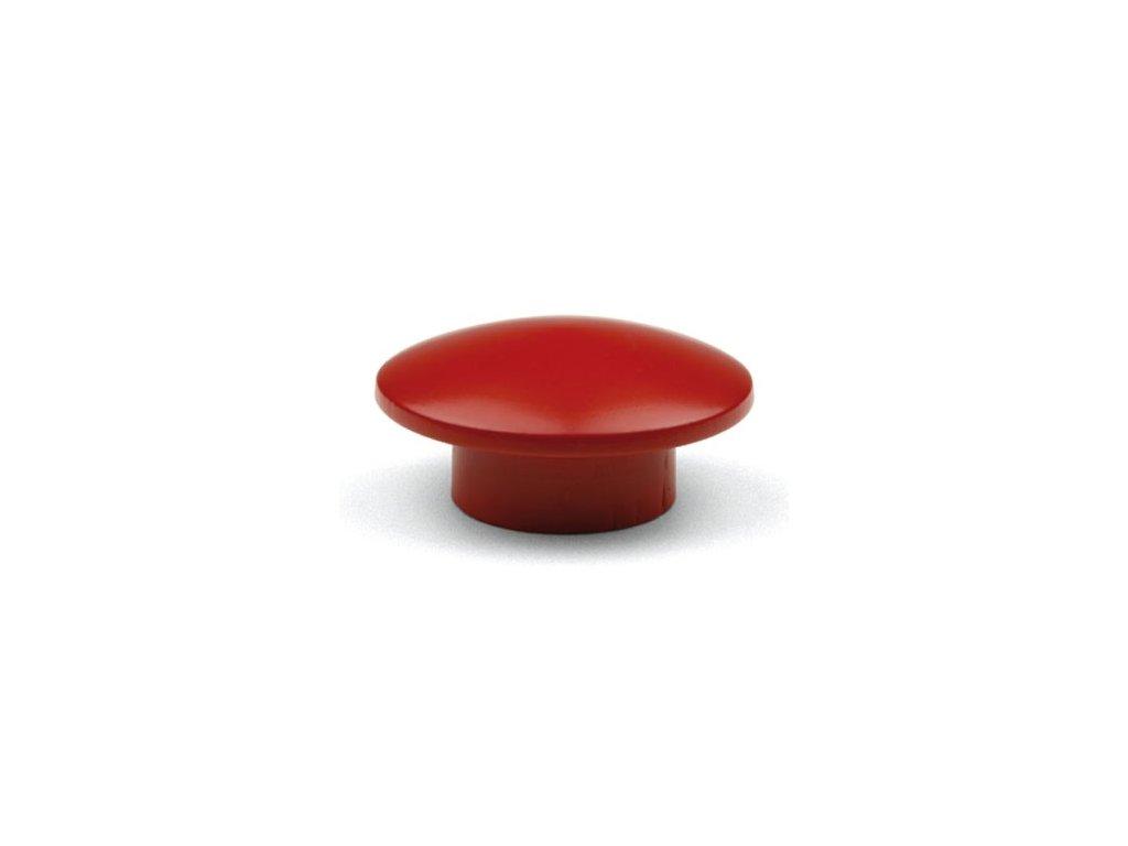 nabytkova knopka SOLA cervena