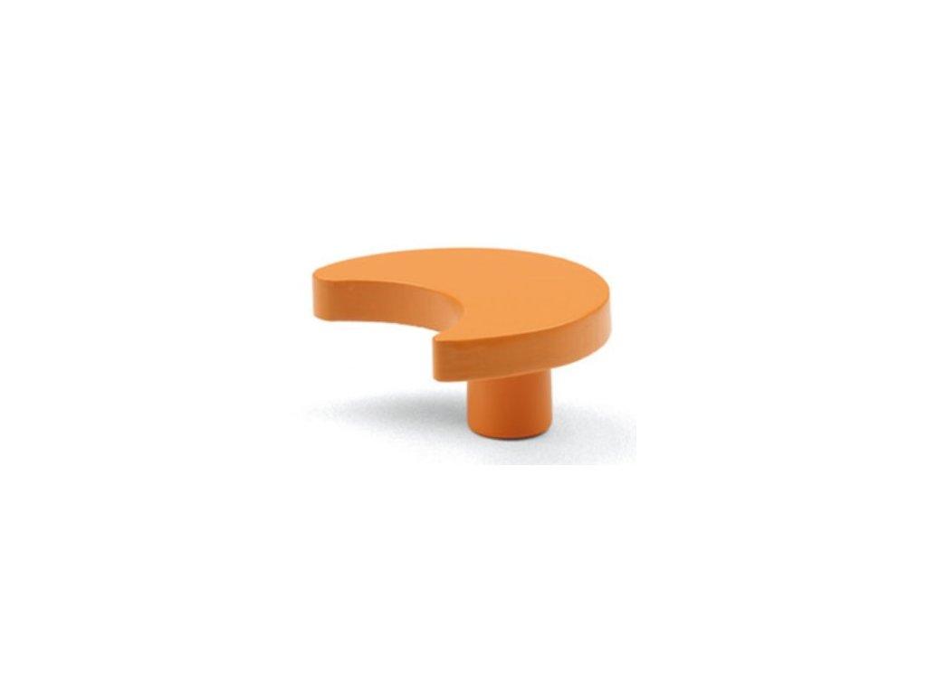 nabytkova knopka MUNA oranzova