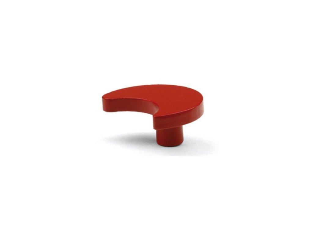 nabytkova knopka MUNA cervena
