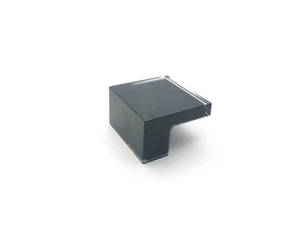 nabytkova knopka p603 cerna