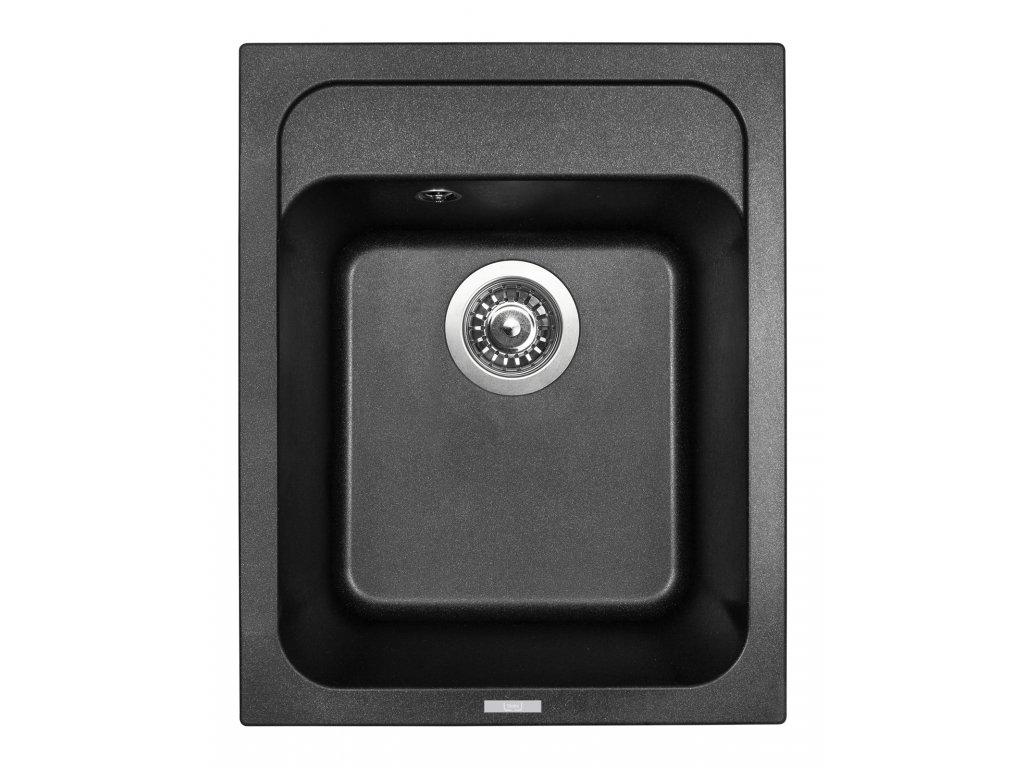 3819 4 granitovy drez sinks classic 400 metalblack