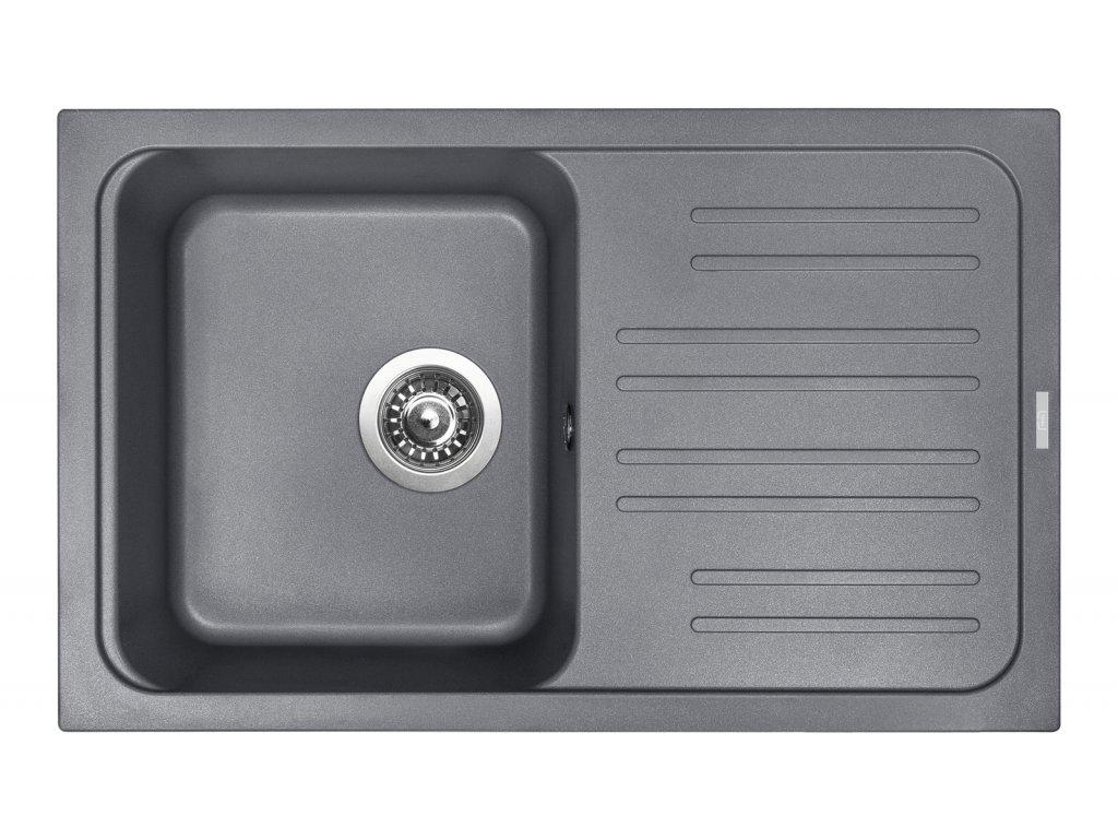 3834 4 granitovy drez sinks classic 740 titanium