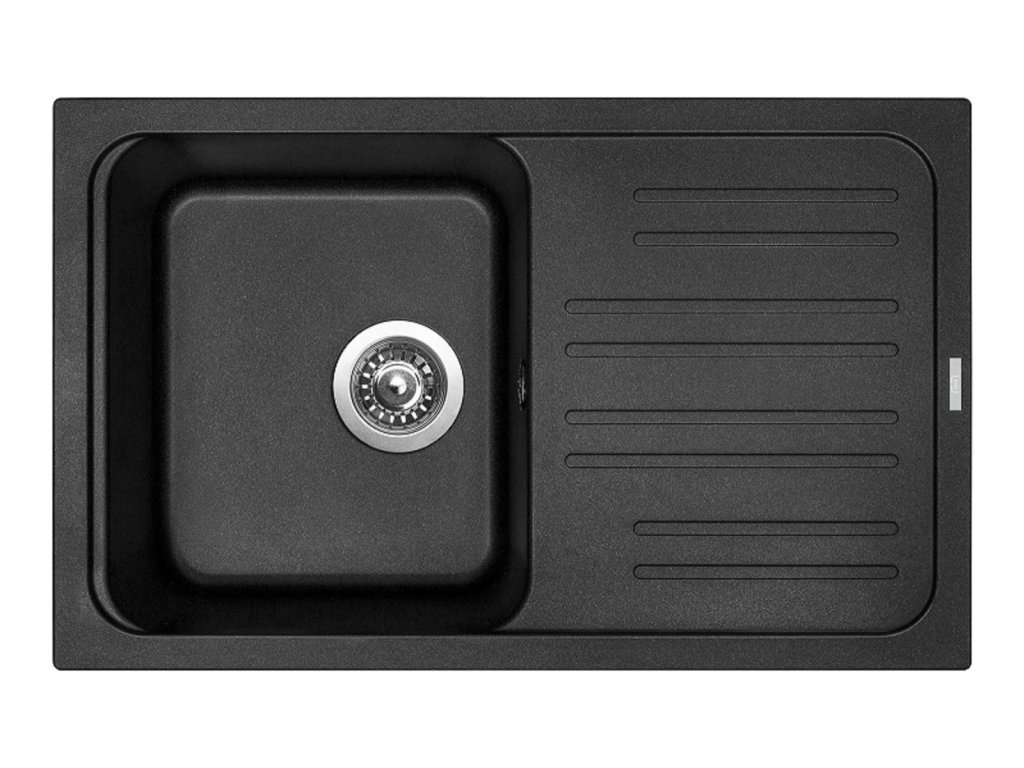 3837 4 granitovy drez sinks classic 740 metalblack