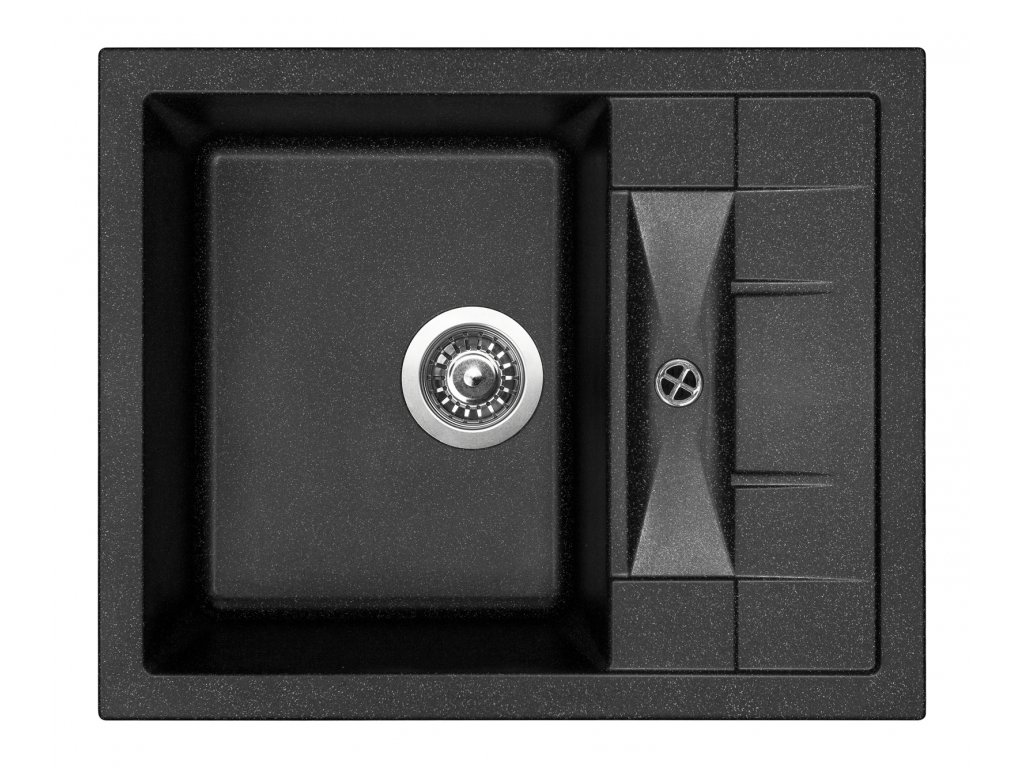 3846 4 granitovy drez sinks crystal 615 granblack