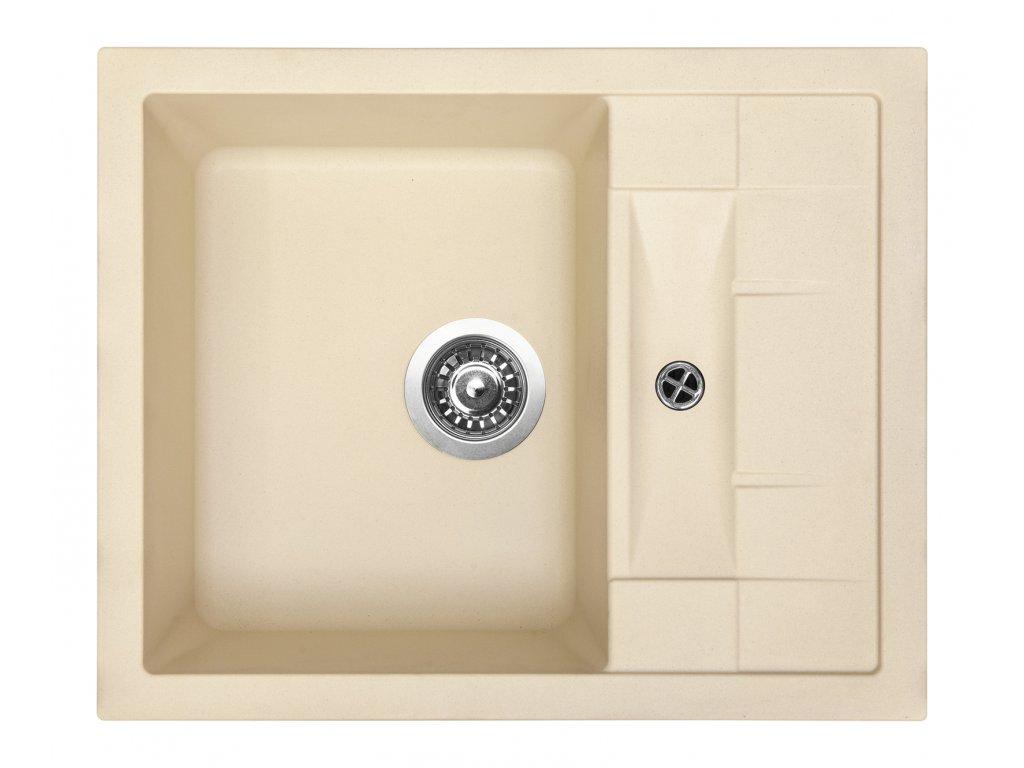 3849 2 granitovy drez sinks crystal 615 sahara