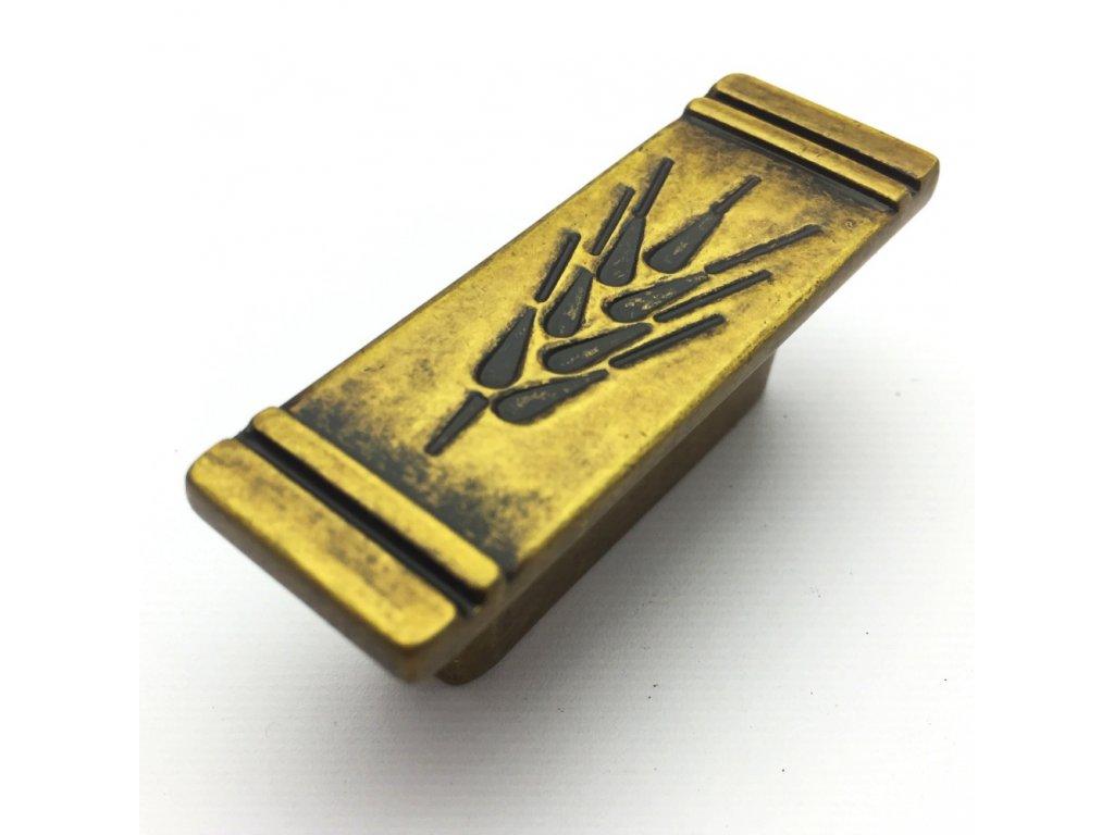5109 nabytkova knopka adena zlata antik