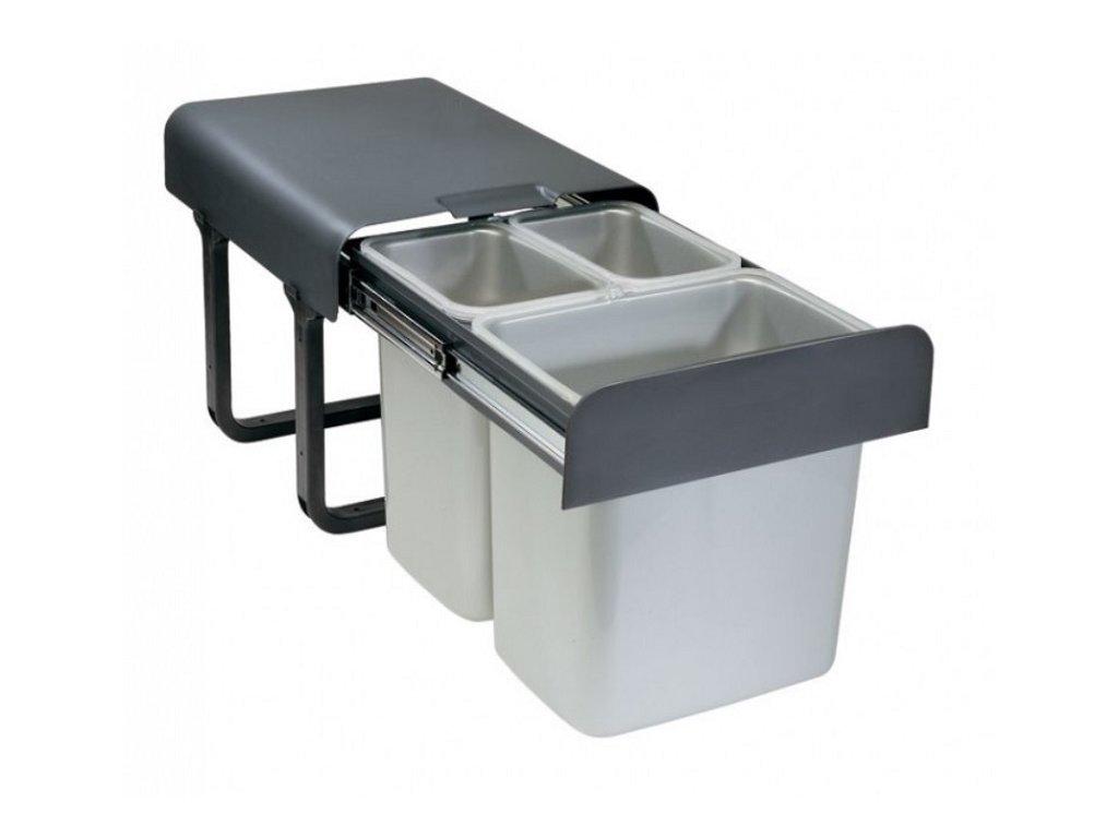 sink odpadkovy kos ekko 2x8l 1x16l