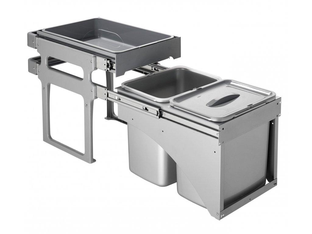 5328 3 odpadkovy kos sinks tank front 40 2x16l