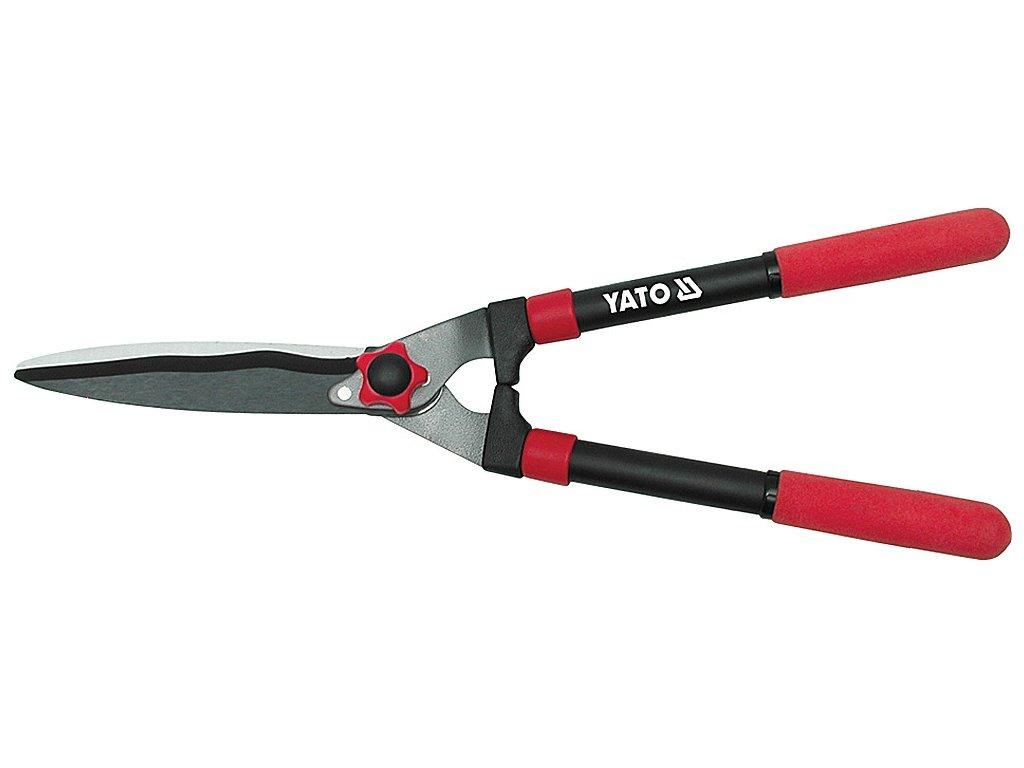 Nůžky na živý plot 550mm (nože 205mm) YT-8822
