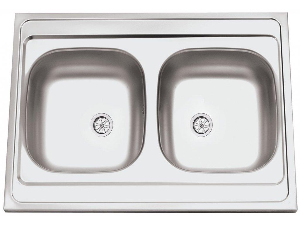 5871 5 kuchynsky nerezovy drez sinks clp a 800 duo m