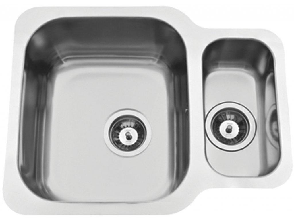 5877 kuchynsky nerezovy drez sinks duo 571 1 v otocny