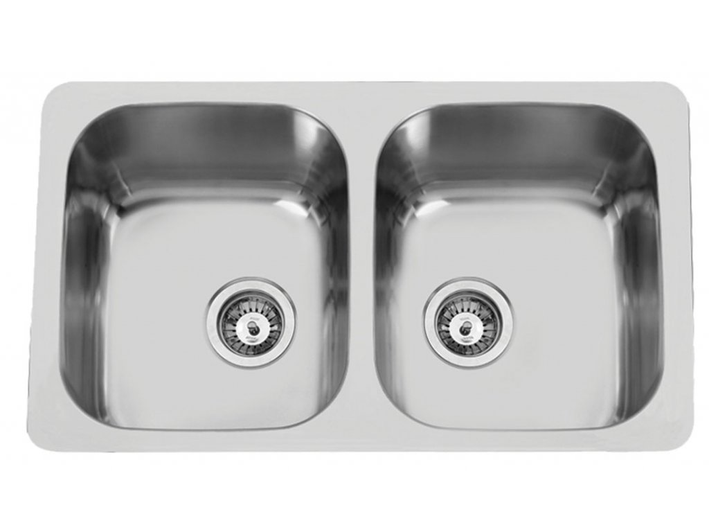 5892 kuchynsky nerezovy drez sinks duo 765 v