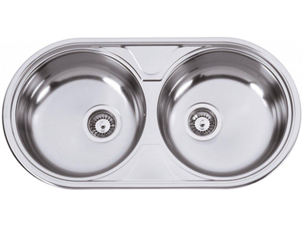 5907 kuchynsky nerezovy drez sinks dueto 847 v matny