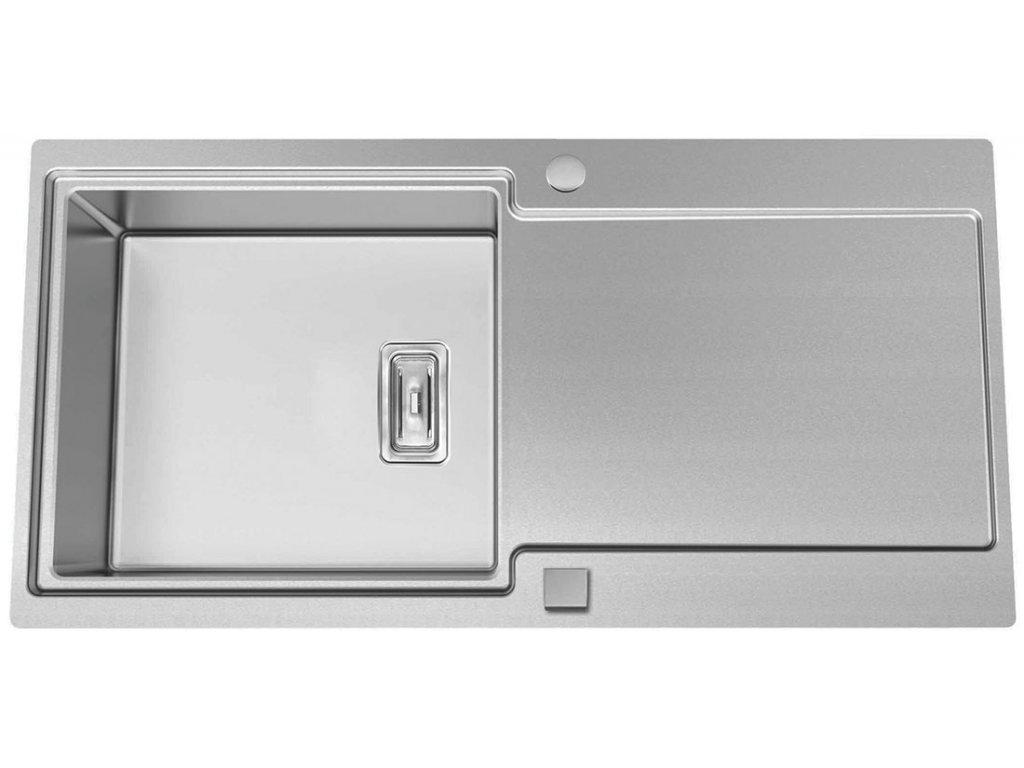 5916 kuchynsky nerezovy drez sinks evo 1000 v