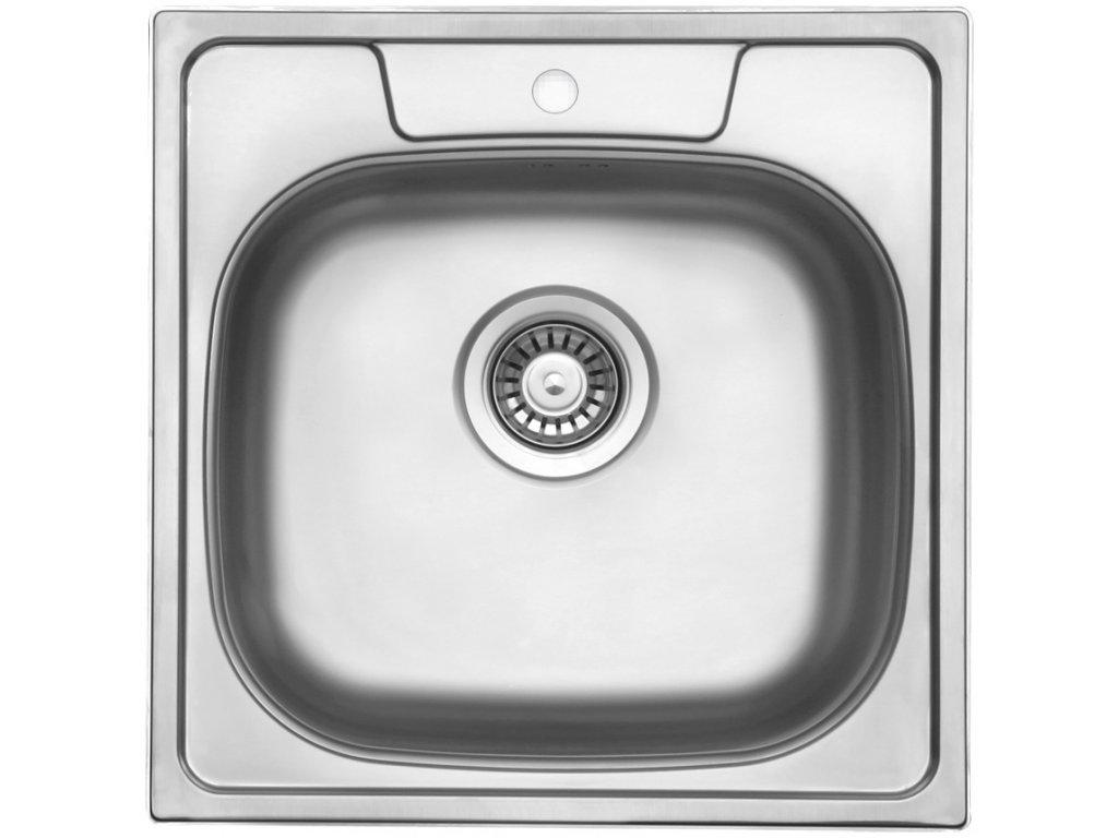 6492 kuchynsky nerezovy drez sinks galant 480 v