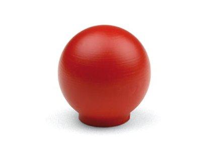 nabytkova knopka BALA cervena