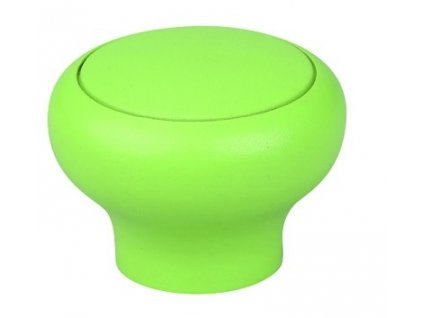 nabytkova knopka funga zelena plastova