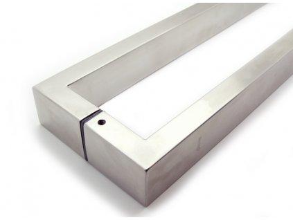 Dveřní nerezové madlo SENEL oboustranné (Rozteč (mm) 780)