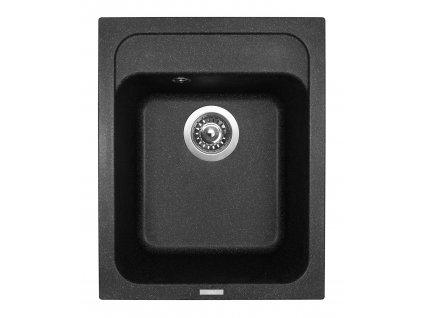 3813 4 granitovy drez sinks classic 400 granblack