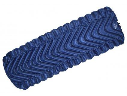 Karimatka nafukovací TRACK 185x61cm modrá 13328