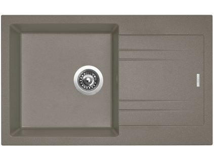 Granitový drez Sinks LINEA 780 N Truffle
