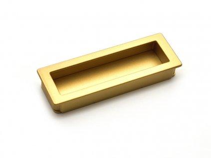 nabytkova uchytka misura zlata matna 1
