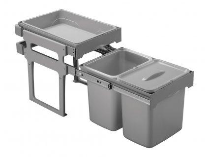 5262 3 odpadkovy kos sinks tank 40 2x16l