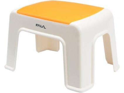 Plastová stolička 30x20x21cm oranžová FALA TO-75916