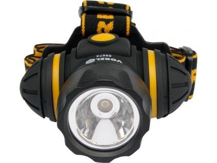 Lampa montážní 1 LED / 1W, 3 funkce svícení TO-88674