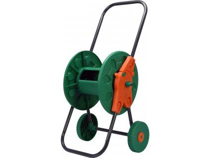 Stojan navíjecí na zahradní hadici s kolečky TO-89336