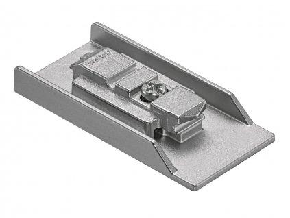 podlozka blum clip cristallo na nalepenie na sklo priama dvojdielna 1