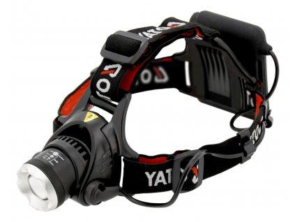 Svítilna čelovka LED XM-L2 CREE 10W, 450 lm YT-08591