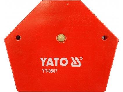 Úhelník magnetický ke svařování 34 kg YT-0867