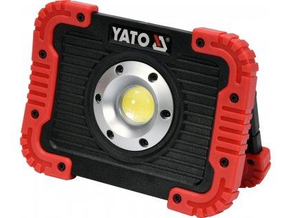Nabíjecí COB LED 10W svítilna a powerbanka YT-81820