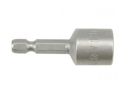 """Nástavec magnetický 1/4"""" 13 x 48 mm CrV blistr YT-1518"""