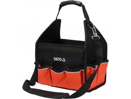 Taška na nářadí 30x37x21 cm s nylonovou rukojetí YT-74370