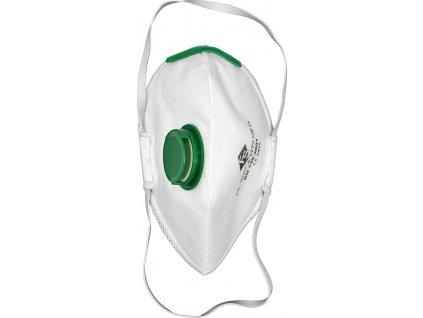 Respirátor s ventilem 3ks FFP2 EN 149:2001 YT-7492