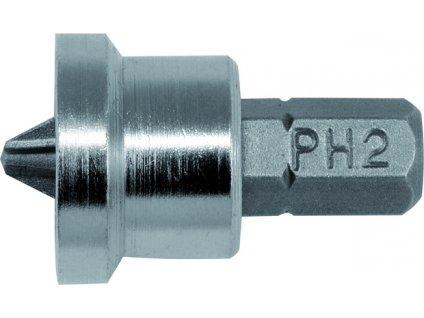 """Bit křížový 1/4"""" PH2 x 25 mm 20 ks do sádrokartonu YT-7980"""