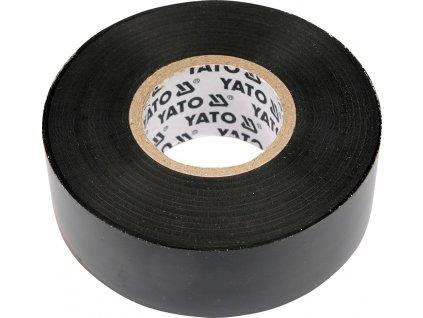 Páska izolační 25 x 0,19 mm x 20 m černá YT-8174