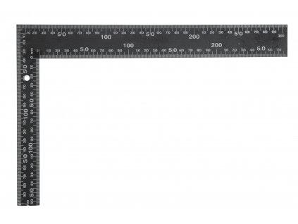 Úhelník truhlářský 400 x 600 mm černý TO-18200