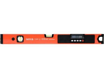 Vodováha digitální 610 mm s laserem YT-30400