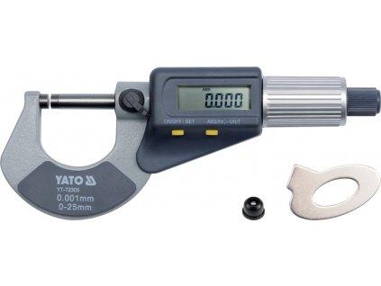 Mikrometr digitální 0-25mm YT-72305
