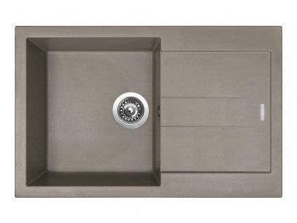 6783 4 granitovy drez sinks amanda 780 truffle