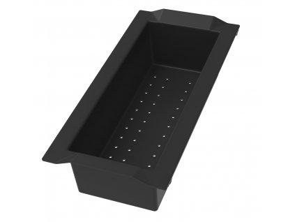 Sinks Miska - plast čierny (BOX) SD237