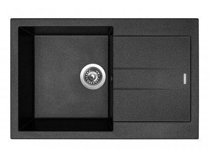 6789 4 granitovy drez sinks amanda 780 metalblack