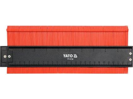 Šablona na profily 260 mm magnetická YT-3736