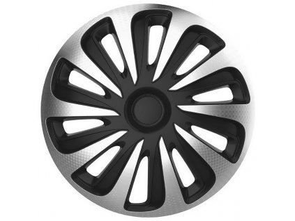 "Kryty kol 15"" CALIBER Carbon (sada) silver/black 32525"