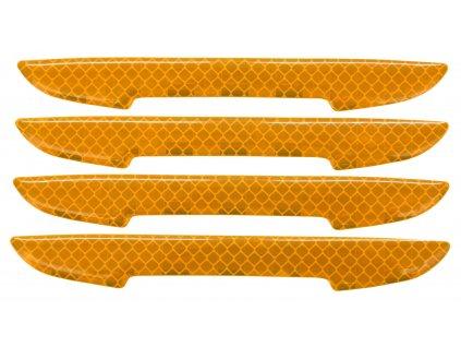 Chránič dveří samolepící DELTA žlutý 4ks 34314