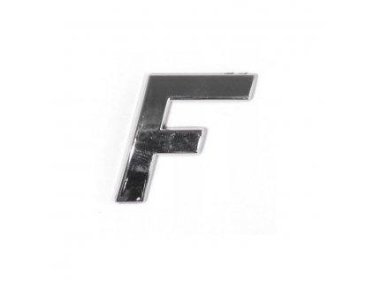 Znak F samolepící PLASTIC 35005