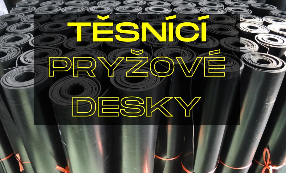Těsníc pryžové desky v metráži | hasmi-eshop.cz